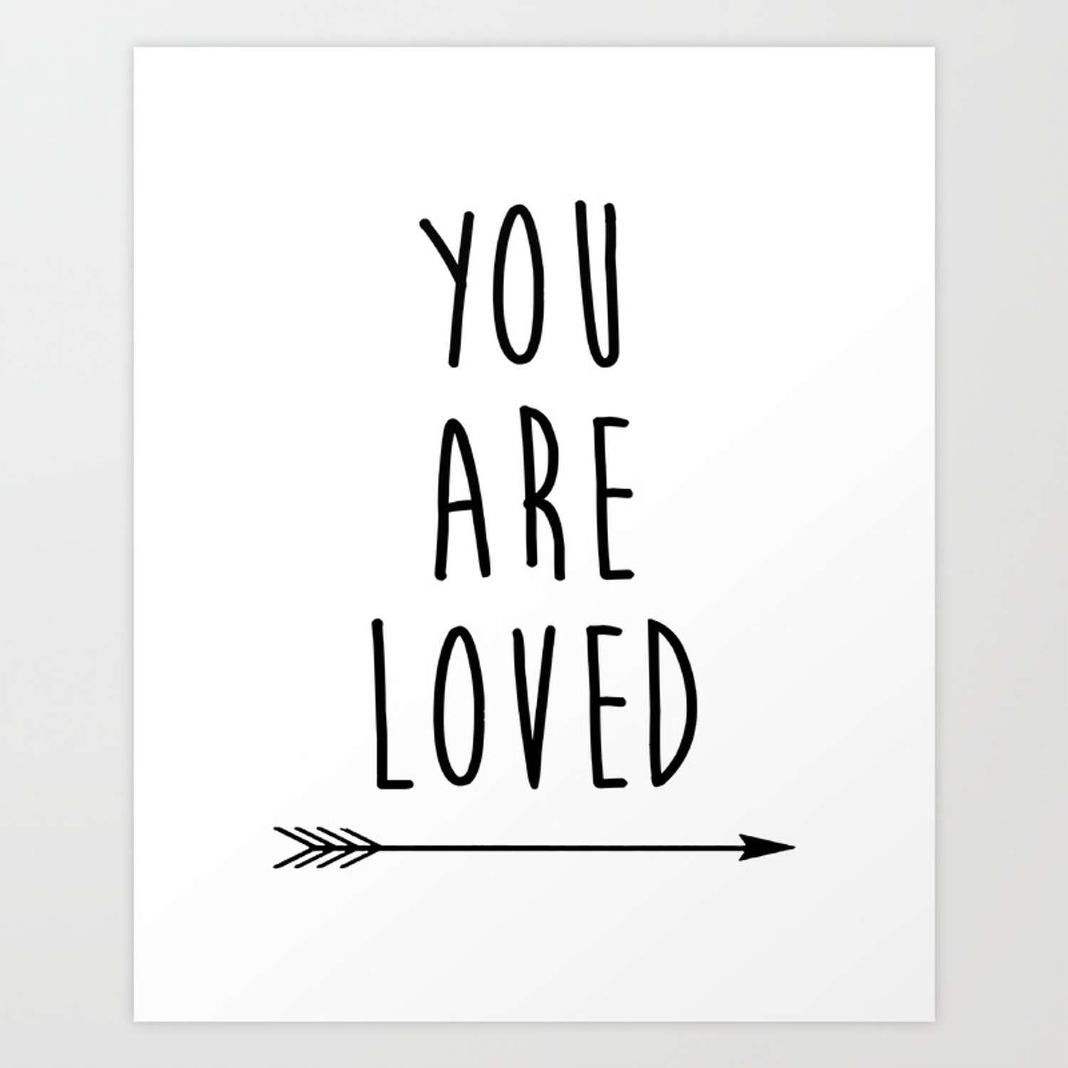 graphic regarding Arrow Printable named Oneself Are Savored Printable Artwork, Nursery Artwork, Black and White Artwork, Arrow Artwork, Oneself are Therefore Relished Phrase Artwork, Artwork Print