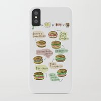 biology iPhone & iPod Cases featuring Bagel Biology by Faye Finney