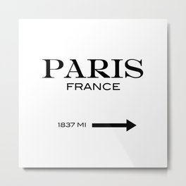 Paris - France Metal Print