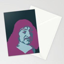 Rene Descartes Stationery Cards