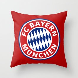 Bayern Munchen Throw Pillow