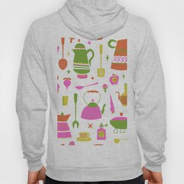 Kitschy Kitchen in Neon Hoody