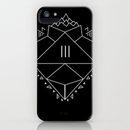 Heart On Fuego iPhone Case