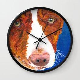 Josefina (old man eyes) Wall Clock