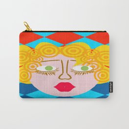 bbnyc blonde girl Carry-All Pouch