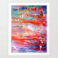 Lines in chaos Art Print