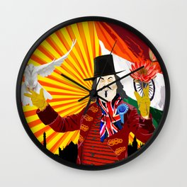For the Benefit of Enoch Powell Wall Clock