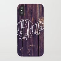 nashville iPhone & iPod Cases featuring Nashville by Grant Fisher