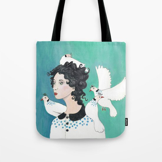 Feathered Friends. Tote Bag