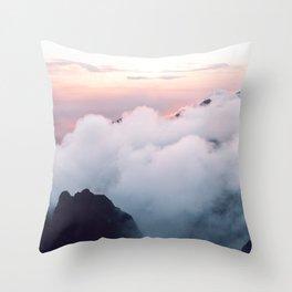 Pink wonder Throw Pillow