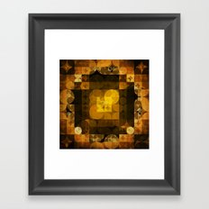 Golden Hopes Framed Art Print
