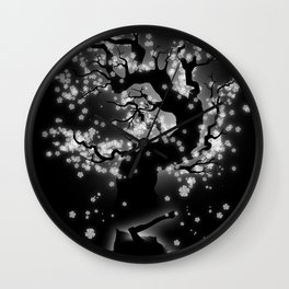 Beauty Cannot be Interrupted Wall Clock
