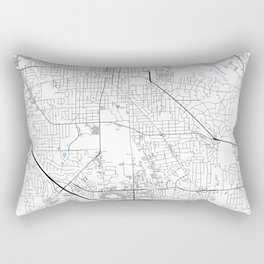 Ann Arbor, Michigan Rectangular Pillow