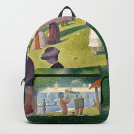 "Georges Seurat ""A Sunday Afternoon on the Island of La Grande Jatte"" Backpack"