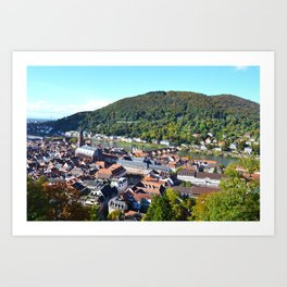 Heidelberg Overlook Art Print