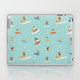 Surfing kids Laptop & iPad Skin
