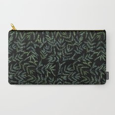 Watercolor leaf pattern Carry-All Pouch