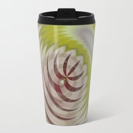 Basal Stripe Twirl Travel Mug
