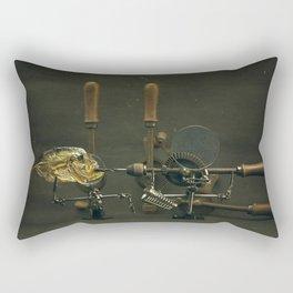 Fish and Drills Rectangular Pillow