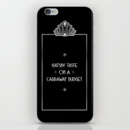 Gatsby Style iPhone Skin