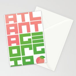Atlanta GA Stationery Cards