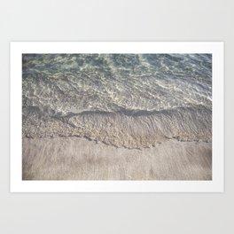 Water Photography Shoreline Art Print