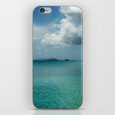 Caribbean Sea View iPhone Skin