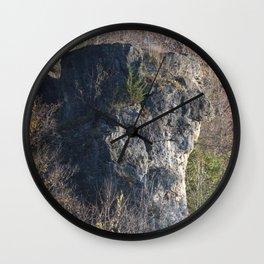Indian Head Rock, Savanna IL Wall Clock