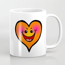Laughing Love Heart Coffee Mug