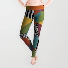 Colorful Geometry Leggings