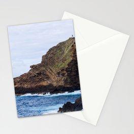 Porto Moniz, Madeira island, Portugal. Stationery Cards