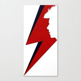 David Thunder Silhouette Canvas Print