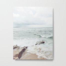 Wind and Sea Beach Metal Print