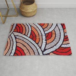 Mosaic fans Terrazzo Blobs Rug