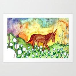 Far Away Land Art Print
