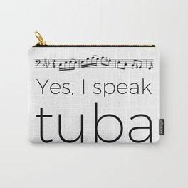 I speak tuba Carry-All Pouch