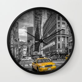 MANHATTAN 5th Avenue Wall Clock
