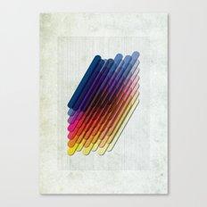 LollyStick Rainbow Canvas Print