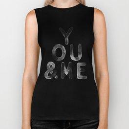 You & Me Biker Tank