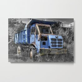 Old Tipper Truck Metal Print