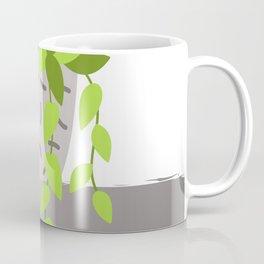 Flowers Branch Minimalism Vase Coffee Mug