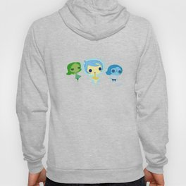Joy, Sadness And Disgust Hoody