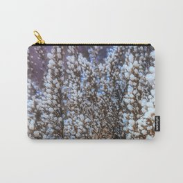 Frost On Heather And Wild Grasses Carry-All Pouch