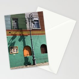 The Streetlamp, La Boca, Buenos Aires, Argentina Stationery Cards
