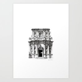 Chiesa di Santa Chiara - Lecce Art Print