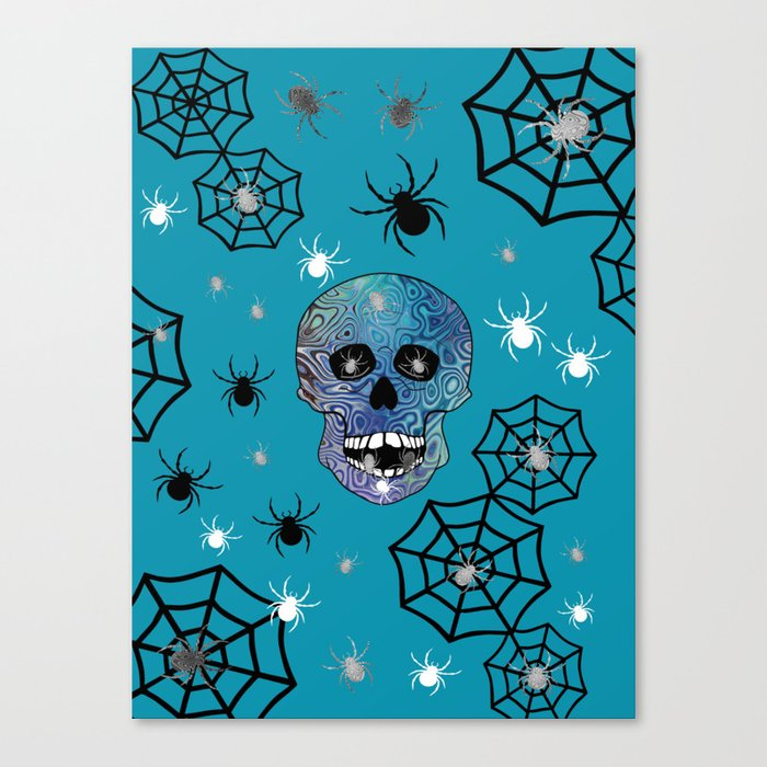 Creepy Crawling Spiders Canvas Print