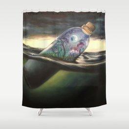 Magic Bottle Shower Curtain
