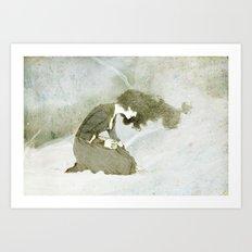 Dead man's box Art Print