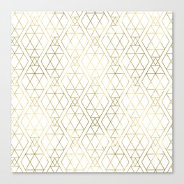 Modern Art Deco Geometric 1 Canvas Print