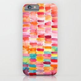 Watercolor Strokes iPhone Case